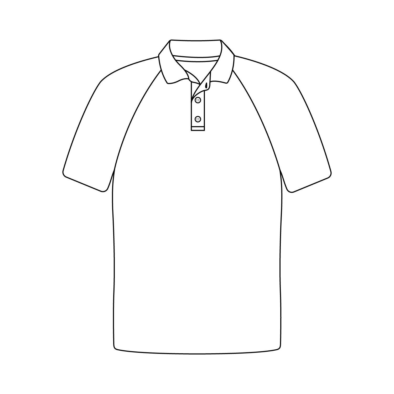 Short Set In Sleeve Plain Polo