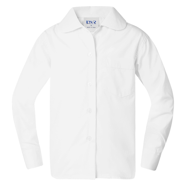 Benham Peter Pan-Collar Long Sleeve School Blouse