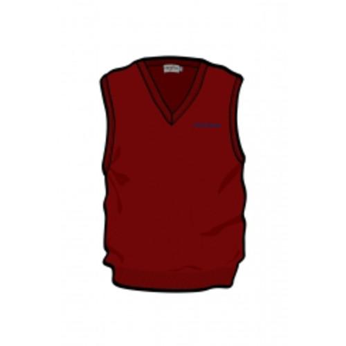 Unisex Maroon Vest