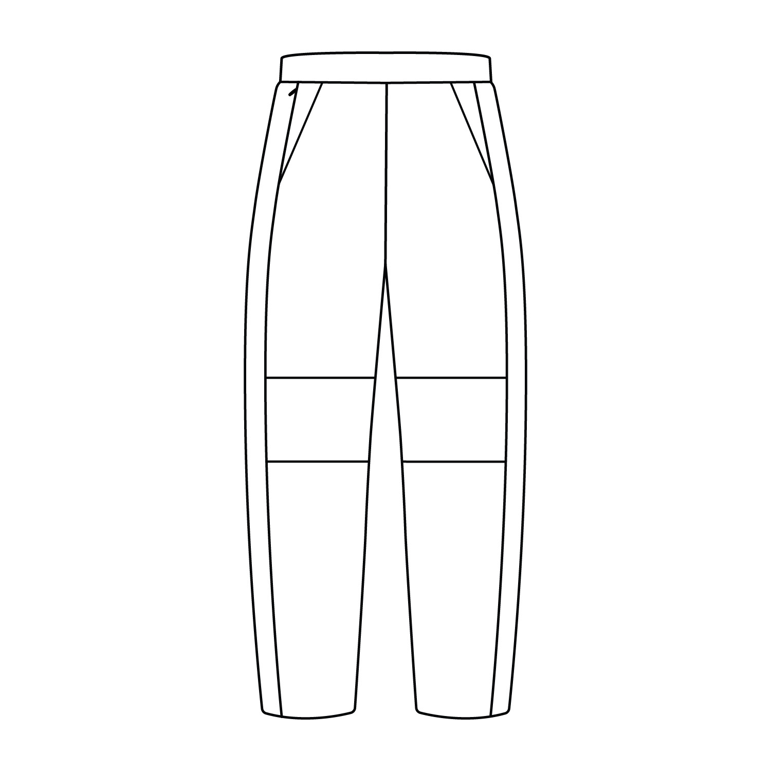 Double Knee Track Pant