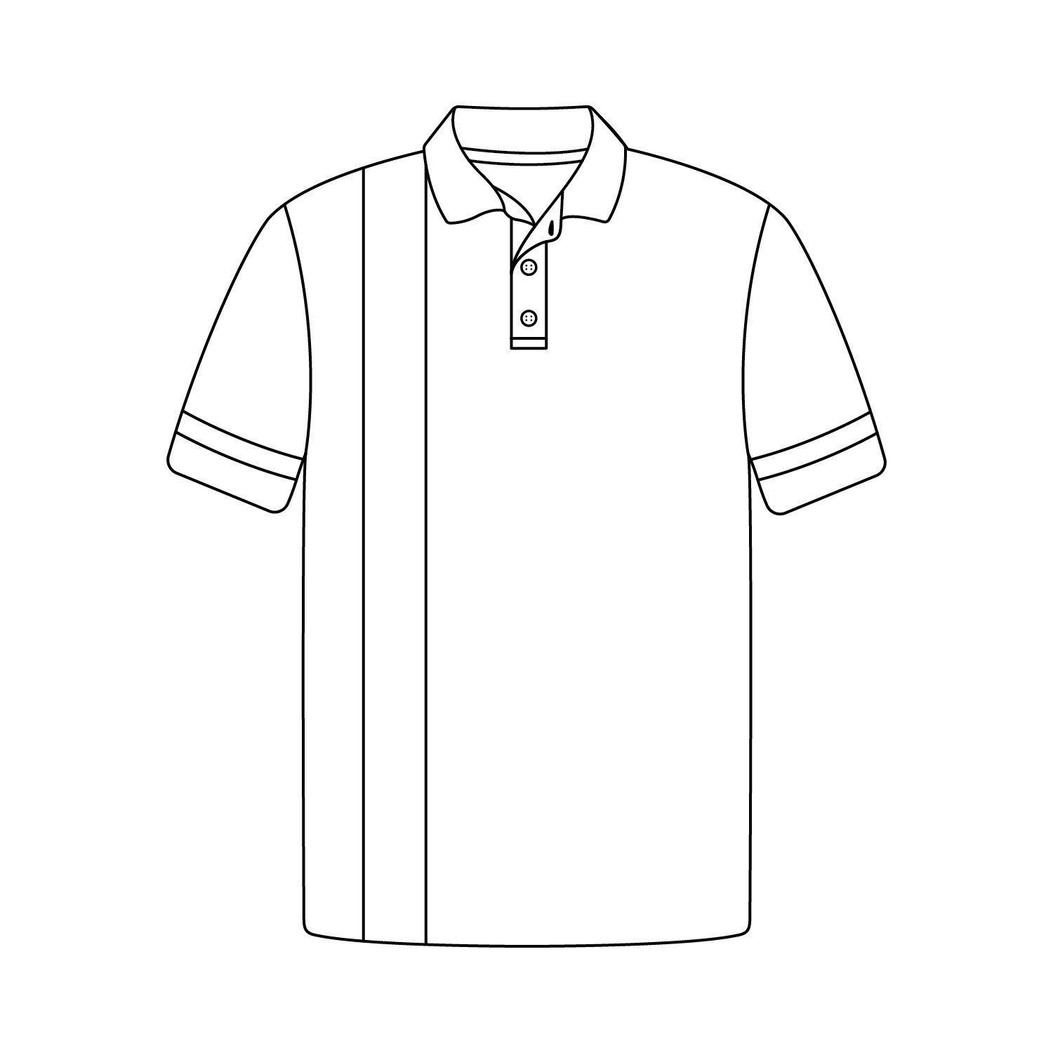 Fancy Short Sleeve Polo