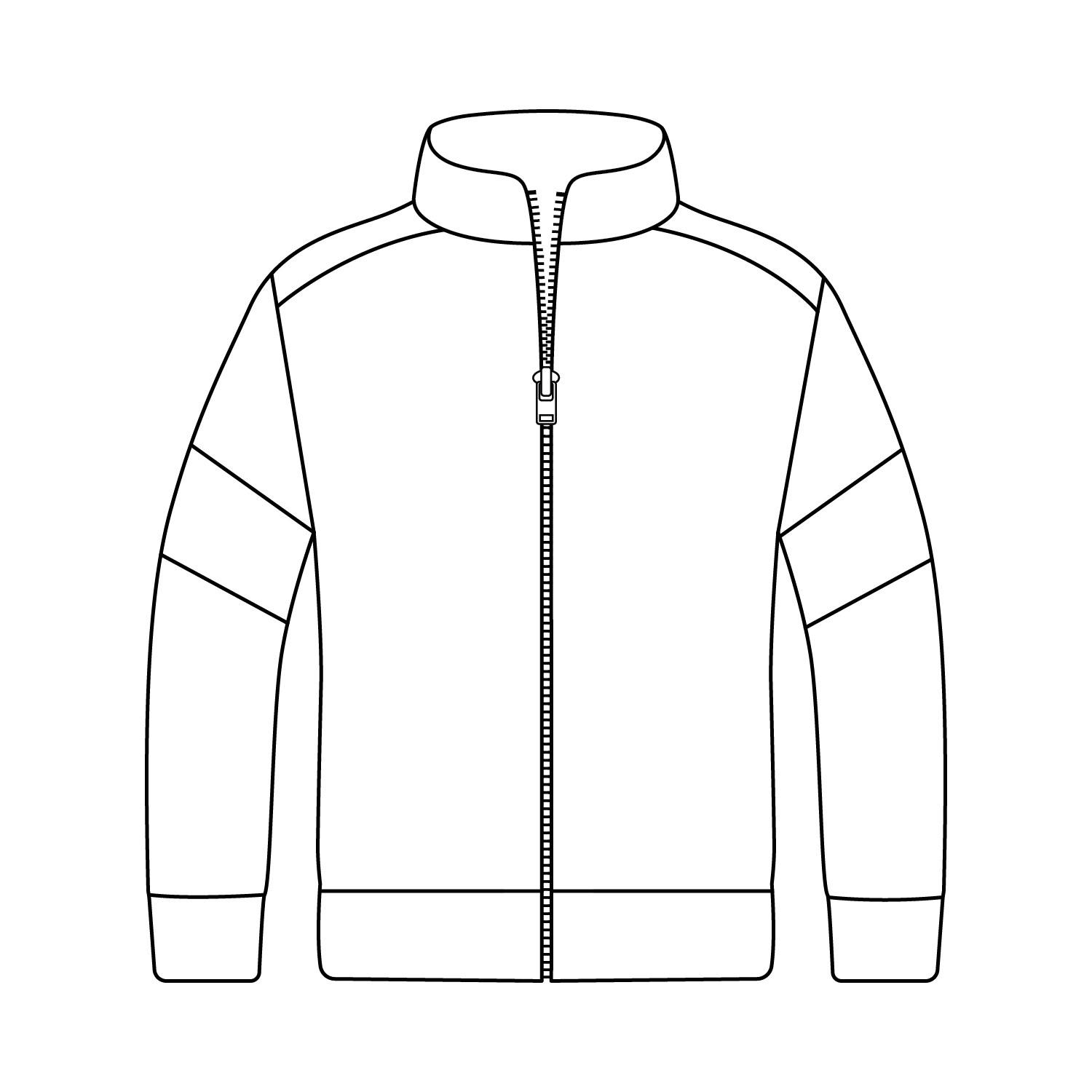 Loose Hip Length Sport Jacket