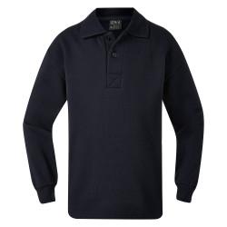 Oxley Fleecy Polo Neck Sweat Shirt