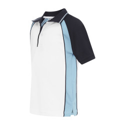 Craig Raglan Panel Sports Polo