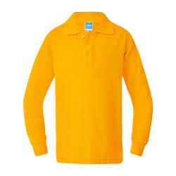 Armstrong Cotton Back Long Sleeve Polo