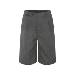 Formal Shorts with Belt Loops